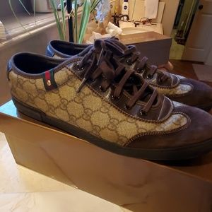 407d5db2b Gucci Shoes | New Supreme Tiger Canvas High Top Sneakers | Poshmark